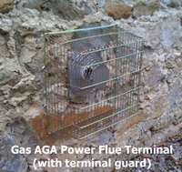 AGA Power Flue Terminal