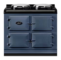 AGA Three Oven Total Control Cooker in Dartmouth Blue