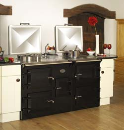 Black Everhot 150 Cooker