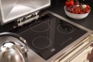 Everhot 150i Cooker showing large cast iron hotplate and three-zone induction hob
