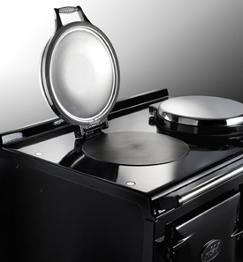 AGA Total Control Boiling plate lid up