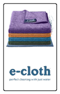 E-Cloth Microfibre cleaning system, just use water